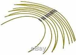 10 Pack Strimmer Trimmer EXTRA STRONG Spool Line BOSCH ART 23 26 30 COMBITRIM