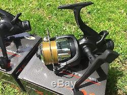 2 X Ngt Max 60 2 Bb Carp Fishing Reels Loaded With 10lb Line Ngt Tackle