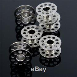 20 X Metal Bobbins Sewing Machine Spool UNIVERSAL Fits Most Brands