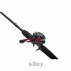 Abu Garcia Black Max Rod & Reel Combo Predator Baitcasting Spin Spinning 1376703