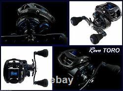 Abu Garcia REVO TORO BEAST 60 RH Baitcaster Fishing Reel NEW + Warranty + Braid