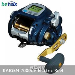 Banax Kaigen 7000CP Electric Reel Big Game Jigging Fishing Reels EZ Dial Reels