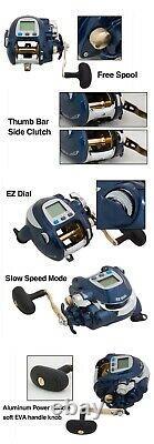 Banax Kaigen 7000CP Electric Reel Big Game Jigging Fishing Reels Tracking