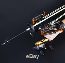 Bow Fishing Slingshot Bowfishing Reel Slingbow Catapult Archery Arrow Sling Shot