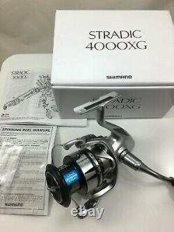 Brand New Sealed Shimano Stradic FL 4000XG Spinning Reel ST4000XGFL 6.21