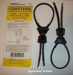 Breakaway Nylon Coasters Tough Universal Reel Mounting Device