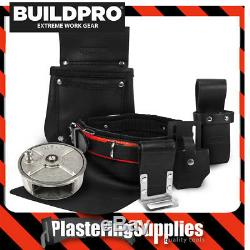 BuildPro Steel Fixing Fixers Set 6 Piece Leather Heavy Duty IDEAL REEL SFS