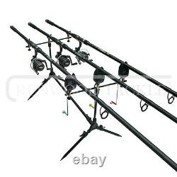 Carp fishing Set Up With Rods Reels Alarms Net Holdall Bait Bivvy & Tackle 2 WAY