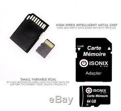 Carte Mémoire Micro sd 64/128/32 Go 100 Réel Capacité Et Class 10 + Adaptateur