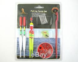 Complete Junior Beginners Fishing Kit Set Rod Reel Tackle Fishing Seat Ruck Sack
