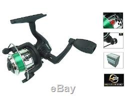 Complete Starter Junior Beginner Kids Fishing Rod & Reel Kit Set Inc. All Tackle