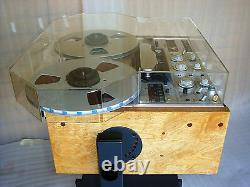 DUST COVER with REEL EXTENSIONS for any Revox PR99 C270 etc Reel Tape Recorder