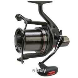 Daiwa DCR2 Basia Custom Big Pit Fishing Reel Black Body Twilight/Red Spool