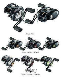Daiwa JDM Zillion TW TWS 1516 Baitcasting fishing reel magsealed Select Models