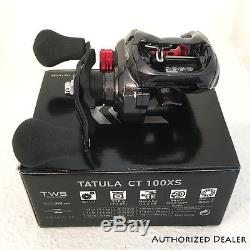 Daiwa Tatula CT Baitcast Fishing Reel 100XS Right hand 8.11 TACT100XS FREE GIFT