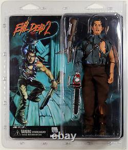 Evil Dead 2 Ash Retro Clothed Action Figure Neca Reel Toys