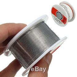 Fine Solder Wire 0.6mm 60/40 2% Flux Reel Tube Tin lead Rosin Core Soldering