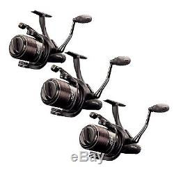 Fox EOS 10000 Freespool Carp Reels (Set of 3) Brand New