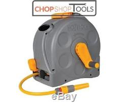 HOZELOCK 2415 COMPACT 2in1 REEL 25M HOSE & FITTINGS Free Standing / Wall Mounted