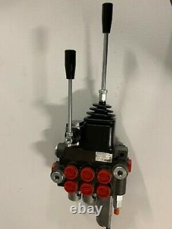 HYDRAULIC LOADER VALVE 3 SPOOL WithJOYSTICK 10 GPM WithFLOAT SPOOL