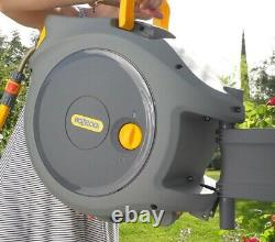 Hozelock Auto-reel Wall-mounted Hose reel & hose (30M) Free Delivery