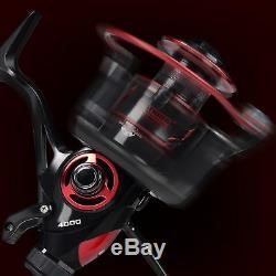 KastKing Bait Feeder III Spinning Reel for Live Liner Bait Fishing Action