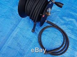 Kranzle K7/120 20 Meter Hose Reel Complete With 2 Meter Lead Hose 1/4 1 Wire