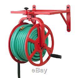 Liberty Garden Revolution Industrial Grade Rotating Garden Hose Holder Reel
