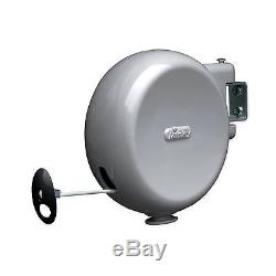 Minky 15m Retractable Reel Outdoor Single PVC Washing Clothes Line