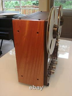 NEW CUSTOM Solid Wood Side Panels Reel Recorder Studer Technics Otari