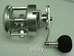 NEW PROGEAR Pro Gear V50 Star Drag reel Silver FREE SHIPPING JAWS cover Right Hd