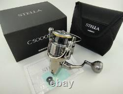 New 2018 Shimano Stella Fj C5000xg Spinning Reel U. S Seller, Model Trust