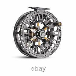 New Hardy Ultralite Cadd 4000 4/5/6 Weight Lrg Arbor Fly Fishing Reel Titanium