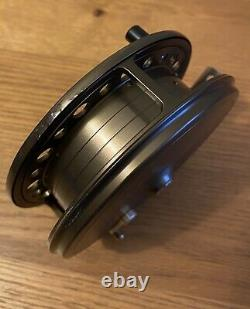 New J W Young Purist II Caged Light Weight 4.5x 1 Centre Pin Fishing Reel