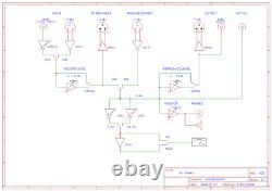 New LED VU Meter Bridge Unit for Studer Reel to Reel A807, A810, A67, B67, C37