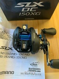 New SLX DC 150XG Low Profile Baitcast Reel 8.21 Right Hand Shimano SLXDC150XG