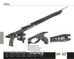 New Salvimar Metal Speargun with Reel Spearfishing Spear Gun Railgun