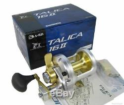 New Shimano TALICA 16 II 16II 2-Speed Fishing Reel