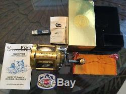 PENN REEL NEW in Box International II Best Saltwater reel every made