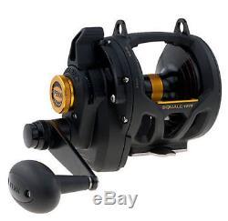 PENN Squall 16VS Lever Drag 2 Speed Saltwater Fishing Reel SQL16VS