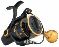 Penn Slammer III, Spinning Reel, 6+1 Ball Bearing, Models 3500, 4500 And 5500