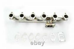 Polished Stainless Steel Exhaust Manifold For 03-07 Dodge Ram 5.9 Cummins Diesel