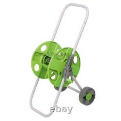 Portable Hose Pipe Trolley Cart Reel Garden Hosepipe Holds 45 M Free Standing