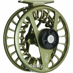 Redington 5-5508R5604 Rise Solid Ambidextrous Angler 5/6 Fly Fishing Reel, Olive