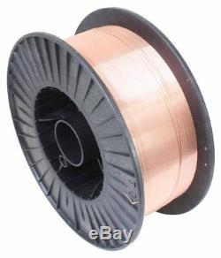 S-08WW5 Copper Coated MIG Welding Wire A18 0.8mm 5kg Reel CO2 Mild Steel SATRA