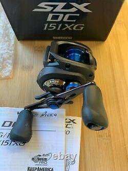 Shimano SLX DC 151 XG 8.21 Left Hand SLXDC151XG Baitcasting reel Brand new