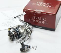 Shimano Stradic C3000HG 6.01 Right/Left Hand FD Spinning Reel STC3000HGFK