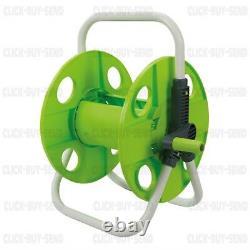 Silverline Lightweight Portable Hose Pipe Trolley Cart Reel Garden Hosepipe
