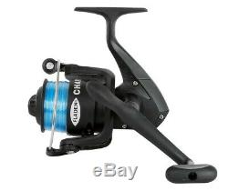 Small Junior Sized Spinning Coarse Fishing Reel With Line