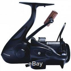 Sonik Vader X 8000 Reel Fishing Big Pit x3 + 3 Free Spools NEW SVX8000